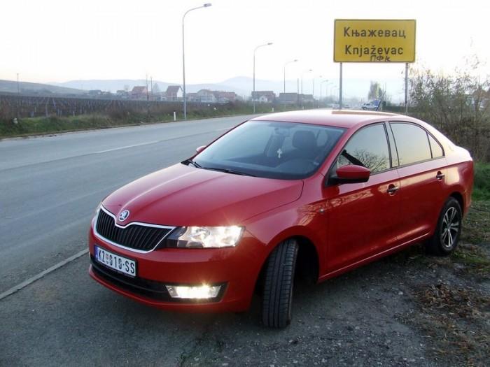 Škoda Rapid BOOM TAXI 734 734