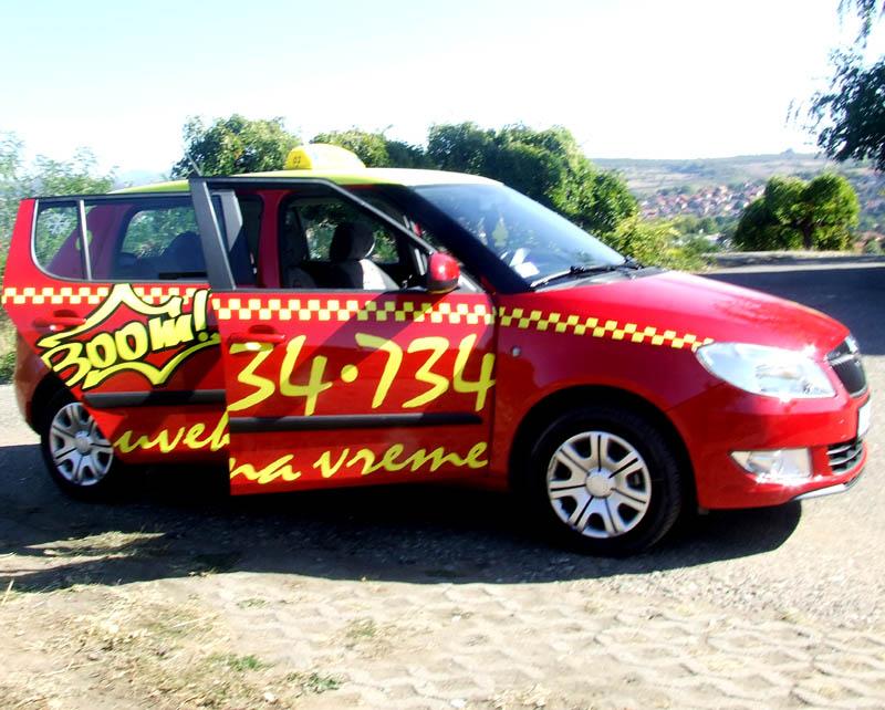 BooM Taxi Knjaževac – 019/ 734 – 734