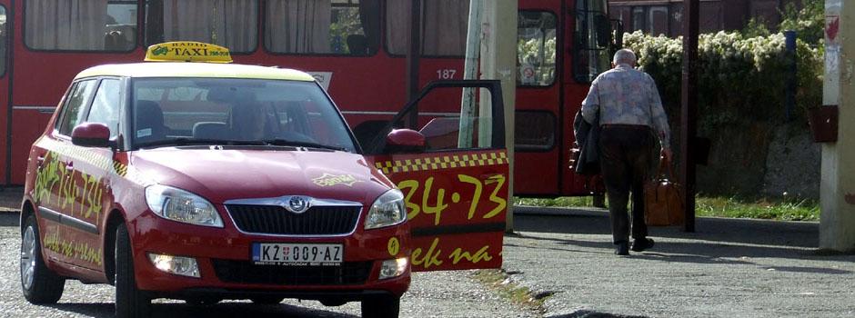 U službi građana, a na ponos našeg grada BooM Taxi Knjaževac - 019/ 734 - 734